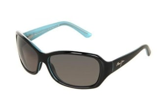Maui Jim Pearl City GS21403A Black with Blue Womens Sunglasses Polarised