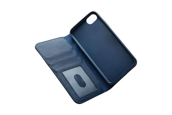 Cygnett CitiWallet Leather Case  for iPhone 8 Plus - Navy