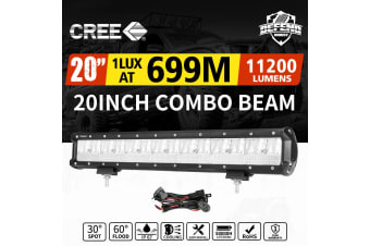 "DEFEND DEFEND 20inch Cree LED Light Bar Combo Driving Lamp Offroad 4WD SUV Truck 22""23"""