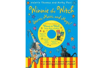 Winnie the Witch - Stories, Music, and Magic! with audio CD