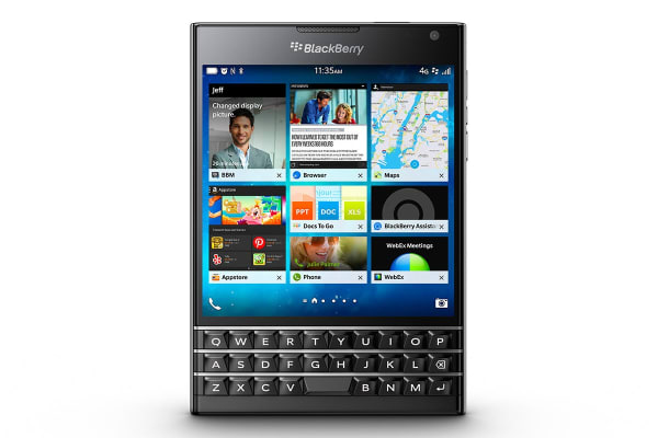 BlackBerry Passport 4G LTE (32GB, Black)