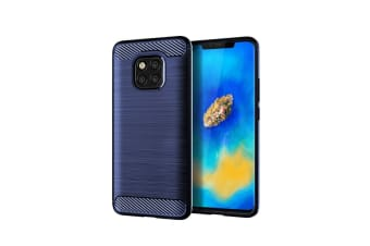 Tpu Shock Absorption Technology Protective Case Cover For Huawei Smartphone Blue Mate20
