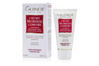 Guinot Continuous Nourishing & Protection Cream (For Dry Skin) 50ml