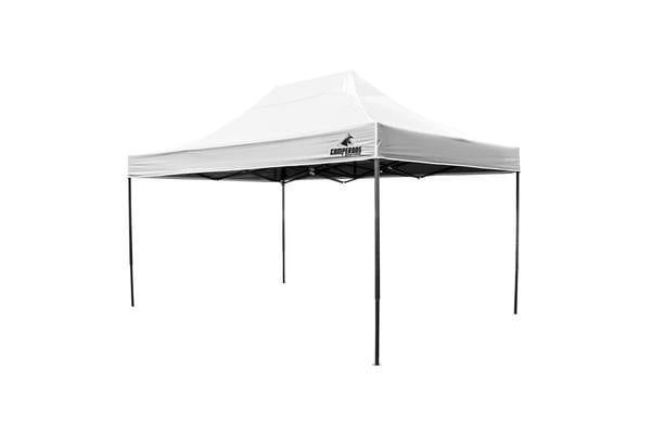 3x4.5m Gazebo Frame + Roof - WHITE