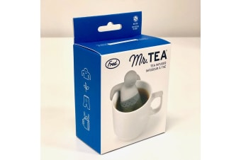 Mr Tea Strainer & Infuser by Fred | Silicone Silicon mister cup herbal filter