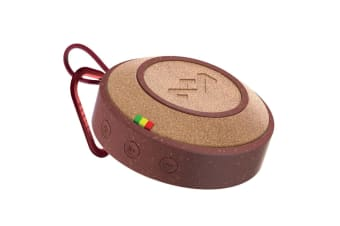 House of Marley No Bounds Portable Wireless Bluetooth Audio Speaker w/ AUX Red