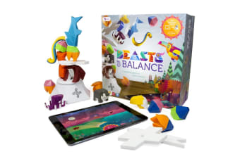 Sensible Object Beast Of Balance Stacking/Building Kids Game/Toy w/App 7y+