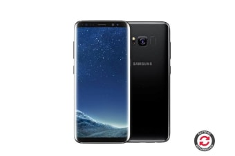 Refurbished Samsung Galaxy S8 (64GB, Midnight Black)