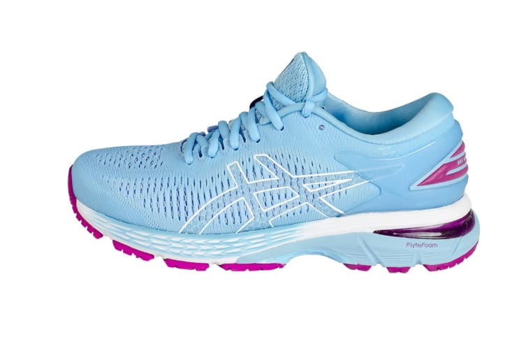 ASICS Women's  Gel-Kayano 25 Running Shoe (Skylight/Illusion Blue, Size 6)