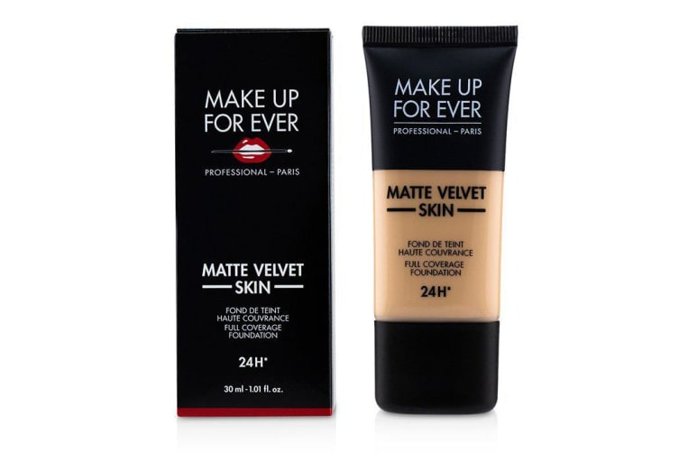 Make Up For Ever Matte Velvet Skin Full Coverage Foundation - # R260 (Pink Beige) 30ml