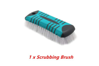 Scrubbing Brush Comfort Grip Scrubber Cleaning Plastic Bristle Wall Bathroom