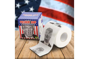 President Dump Toilet Paper | Wipe Your Ass With Donald`s Face!