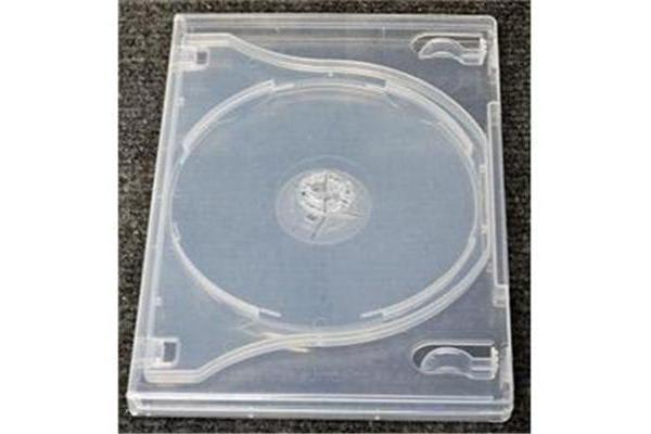 Imatech 3-DVD Case Clear 14mm thick with Flip Tray