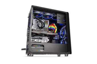 Thermaltake Versa H26 Tempered Glass Mid Tower Chassis Black