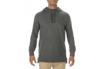 Comfort Colors Mens French Terry Scuba Hoodie (Pepper)