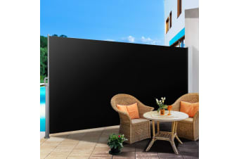 1.8X3M Retractable Side Awning Privacy Screen Shade Patio Garden