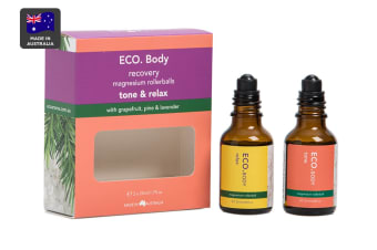 ECO. Tone & Relax Magnesium Rollerball Duo