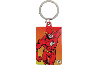 DC Comics The Flash Metal Keyring (Red) (One Size)