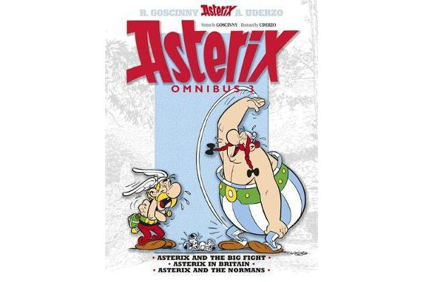 Asterix: Omnibus 3 - Asterix and the Big Fight, Asterix in Britain, Asterix and the Normans