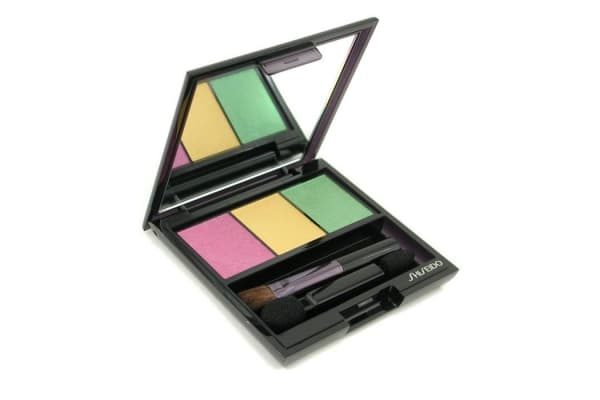 Shiseido Luminizing Satin Eye Color Trio - # YE406 Tropicalia (3g/0.1oz)