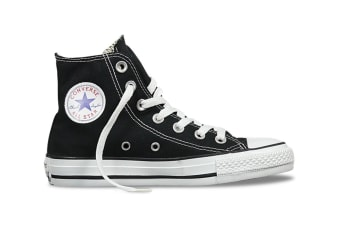 Converse Chuck Taylor All Star Hi (Black, US Mens 9 / US Womens 11)