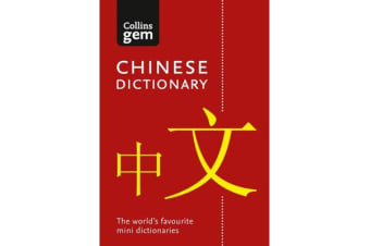 Collins Mandarin Chinese Dictionary Gem Edition - Trusted Support for Learning, in a Mini-Format