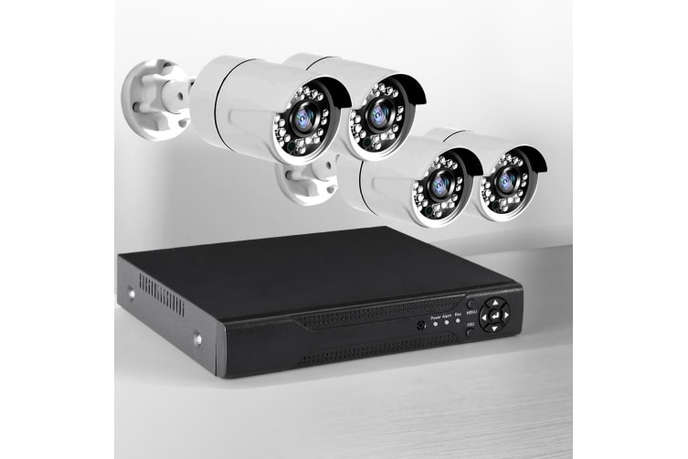 CCTV 1080P HDMI 8CH DVR Security Camera System IR Night Vision Fast Delivery New  -  8 Cameras with 1 TB Hard Drive