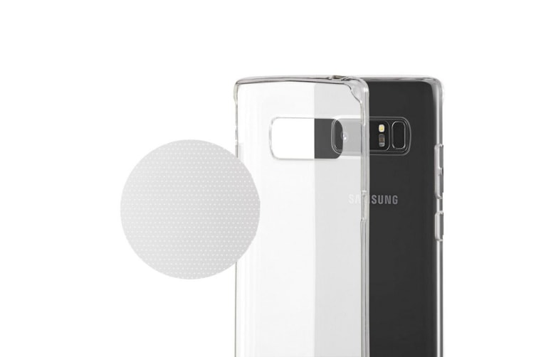 Samsung Galaxy Note 8 Slim Bumper Case (Clear)