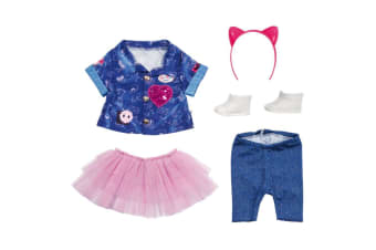 Baby Born Deluxe Denim and Tulle Outfit Set 43cm