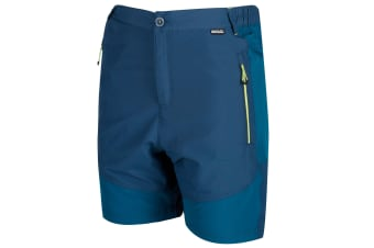 Regatta Mens Sungari Shorts (Majolica Blue/Sea Blue) (30in)