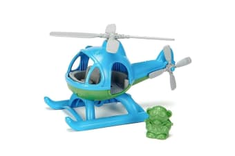 Green Toys Helicopter in Blue