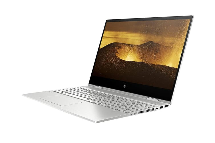 "HP Envy x360 15.6"" Full HD 2-in-1 Convertible Windows 10 Touchscreen Laptop (i5-8265U, 1.6GHz, 8GB RAM, 256GB SSD, Silver) - Certified Refurbished"