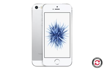 Refurbished Apple iPhone SE (64GB, Silver)