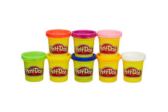 Play Doh Rainbow Starter Pack (8 Tubs)