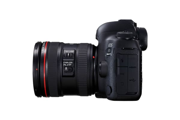 Canon EOS 5D Mark IV DSLR Camera EF 24-70mm f/2.8 Lens