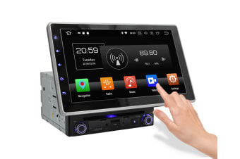 "Elinz 10.1"" In Dash Car DVD Player Universal Android 8 Double 2 DIN Stereo GPS WiFi BT Head Unit"