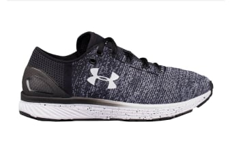 Under Armour Women's Charged Bandit 3 Running Shoe (Black/White, Size 9)