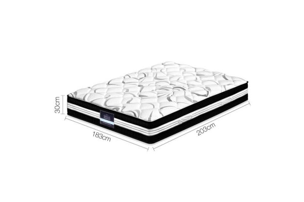 Giselle Bedding 30CM Medium Firm Pocket Spring Mattress (King)