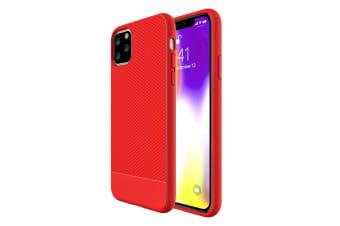 For iPhone 11 Pro Max Case Snap Armour Thin  Light Shockproof Cover Red