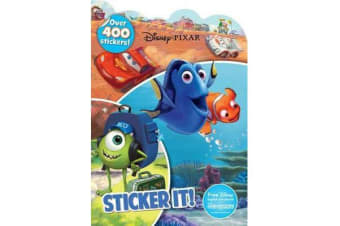Disney Pixar Sticker It! - Over 400 Stickers!