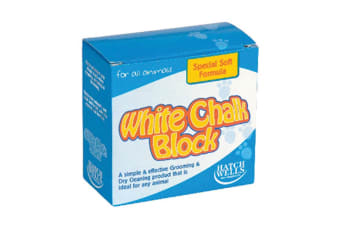 Sundry Chalk Blocks (Pack Of 6) (White) (One Size)