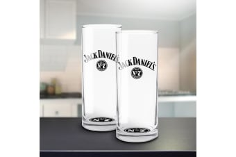 Jack Daniel`s Set of 2 Highball Glasses