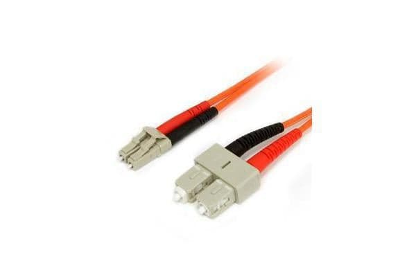 STARTECH FIBER OPTIC CABLE - MULTIMODE DUPLEX 62.5/125 - LSZH - LC/SC - 7 M