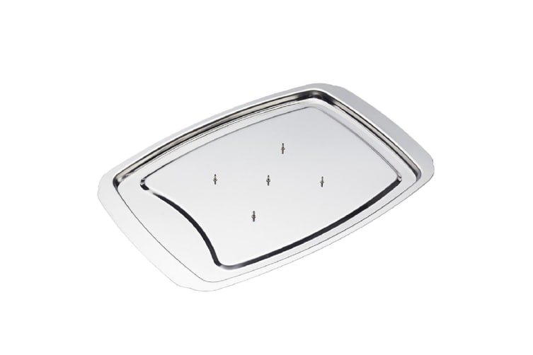 Appetito Stainless Steel Carving Board