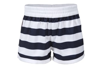 Trespass Childrens Girls Wini Summer Shorts (Ink Print) (2/3 Years)