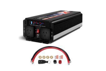 3000W/6000W Modified Sine Wave Power Inverter 12V-240V Camping Caravan
