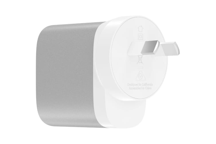 Belkin Boost Charge 27W USB-C Home Charger (F7U060AU-SLV)