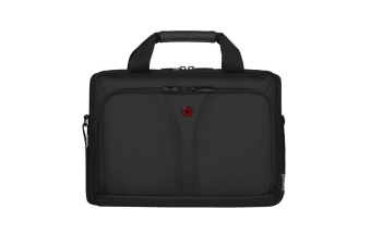 Wenger BC Free 14 Slim Soft Laptop Brief Case Bag w  Adjustable Straps Black