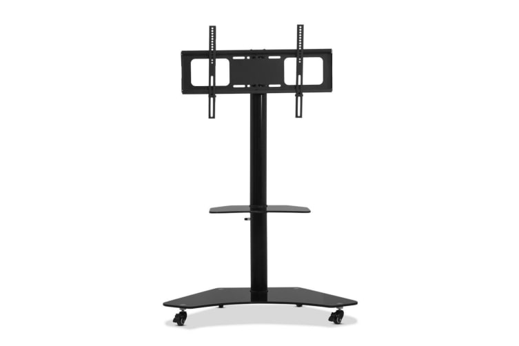 Mobile TV Stand with Mount Swivel Bracket Trolley Wheels 32 - 70 inch