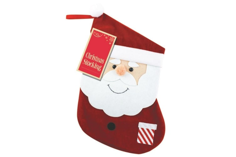 Eurowrap Christmas Stockings (Red) (Small)